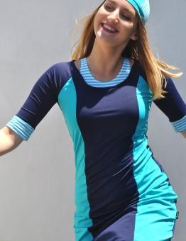 אסתר כחול פסים